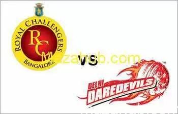 Royal Challengers Bangalore vs Delhi Daredevils winner