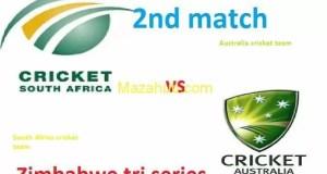 Australia vs South Africa 2nd Match