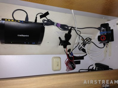 Airstream Internet install complete