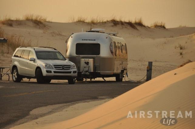 Monahans Airstream campsite