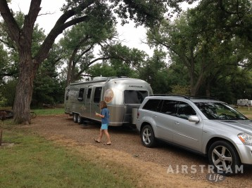 Lake Meade KS Airstream
