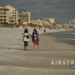 Destin walking beach