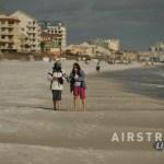 Destin walking beach