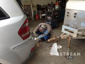Arc-Rite welding Hensley hitch