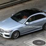 2015 Mercedes-Benz C-Class Spy Shot (11)