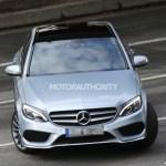 2015 Mercedes-Benz C-Class Spy Shot (22)
