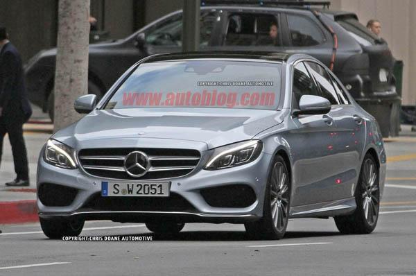 2015 Mercedes-Benz C-Class Spy Shot Home