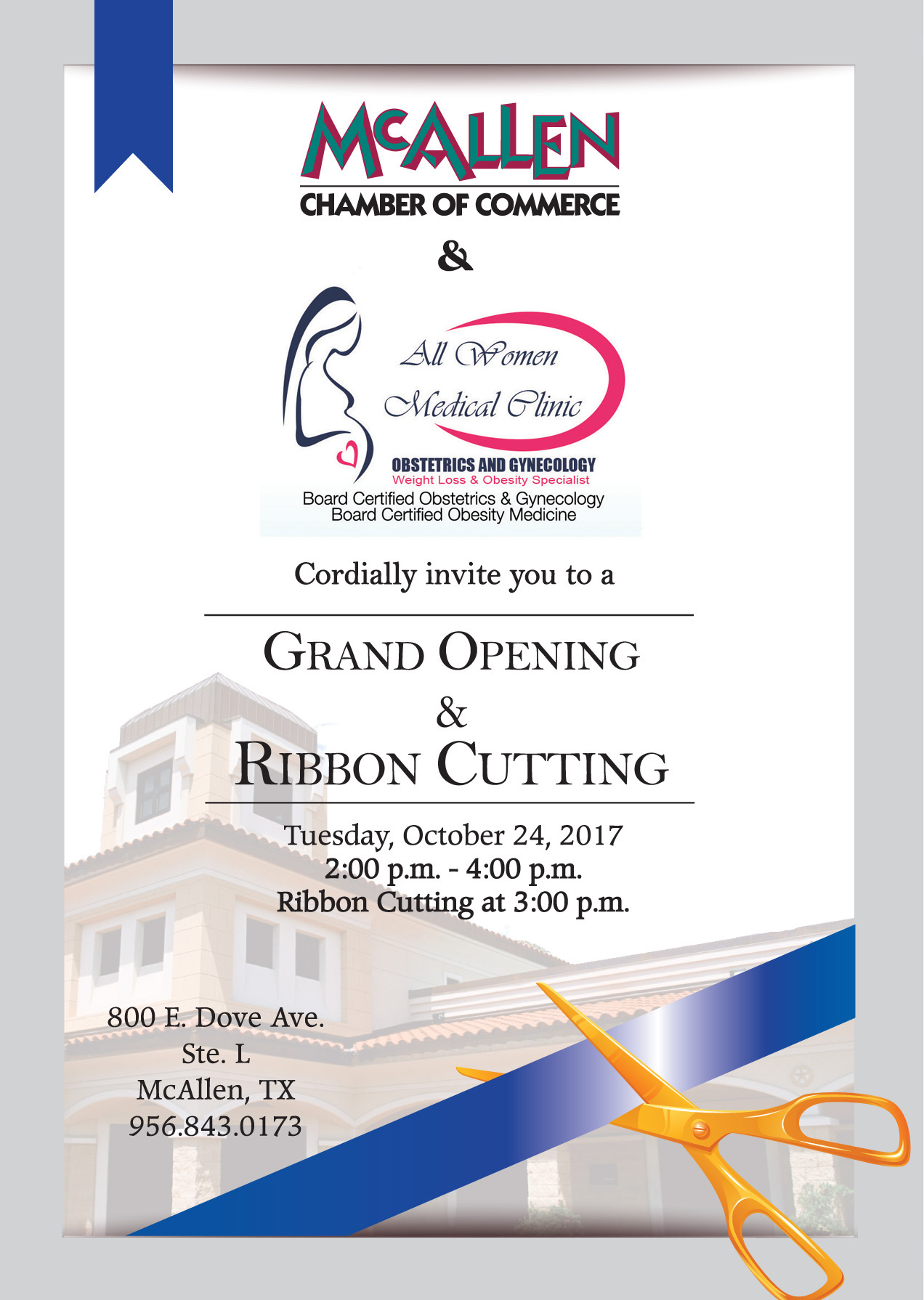Fullsize Of Grand Opening Invitation