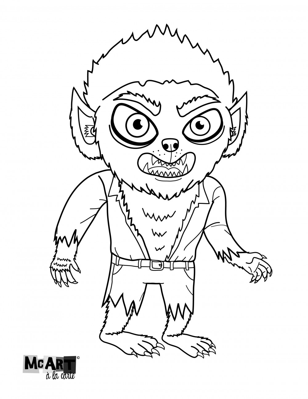 coloring pages | McIllustrator