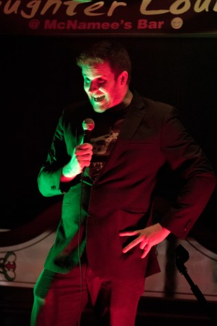 Ross Brown entertaining Loughrea Laughter Lounge