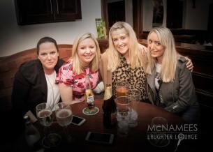 Enjoying McNamees Laughter Lounge