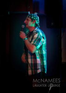 Stephen Kelly Hardy Bucks - Entertaining McNamees Laughter Lounge