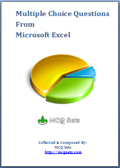 Download MS Excel MCQ Bank - PDF File