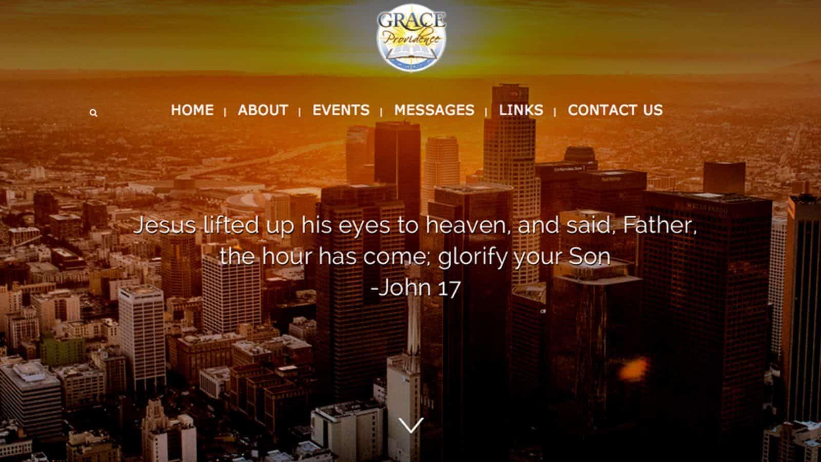 Grace Providence Church Website
