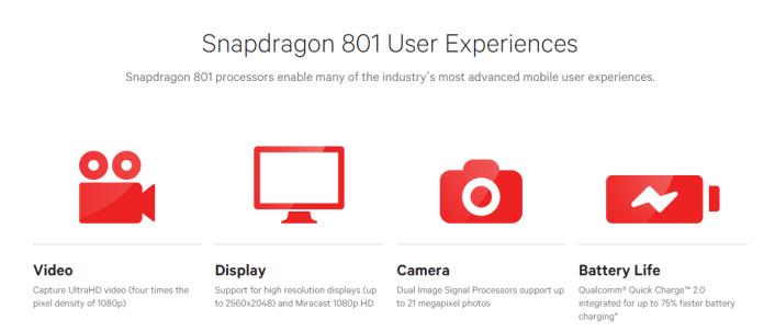 Snapdrgaon 801-  Oppo N3