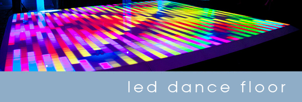Chicago led dance floor rentals