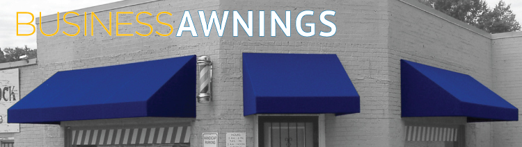 Commercial Awnings - Delta Tent & Awning Company