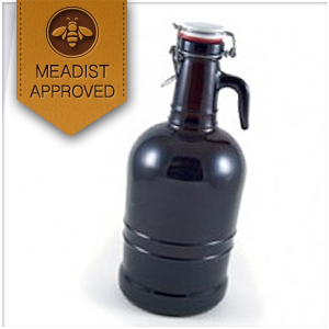 Glass Growler Glass Handle