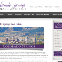 Colorado Springs Real Estate Website