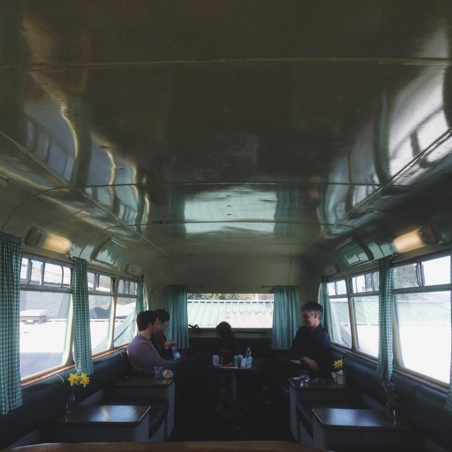 the cafe bus, honey farm