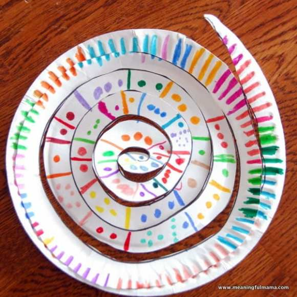 1-spiral paper plates 150