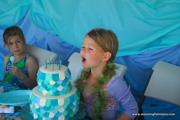 1-#mermaid party #cake #decorating-094