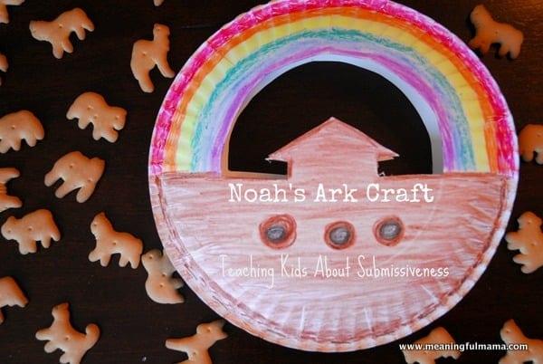 1-#noah's ark #craft #teaching #submissiveness kids-038