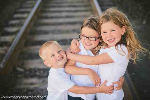 father's day photography ideas train tracks
