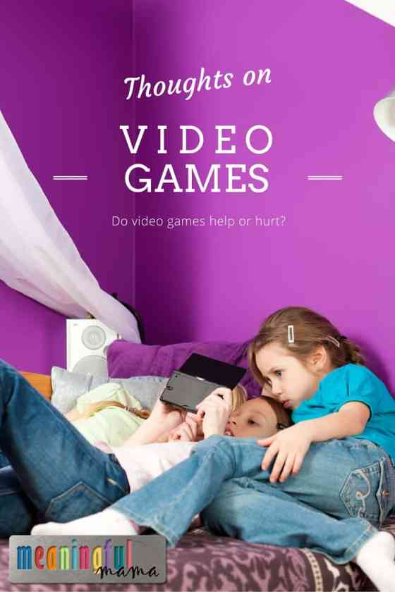Video Games for Kids - Are they Harmful or Helpful?