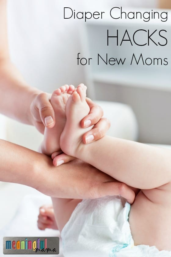 Diaper Changing Hacks for New Moms