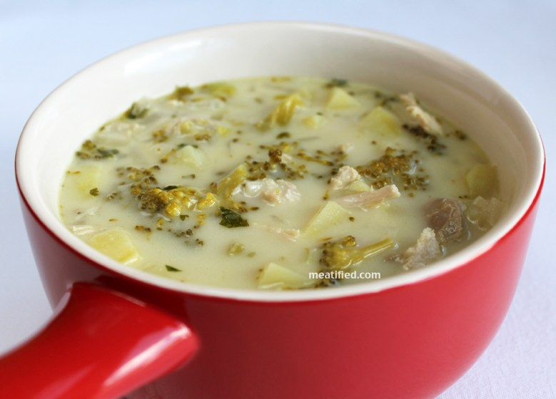 Paleo Chicken and Potato Soup
