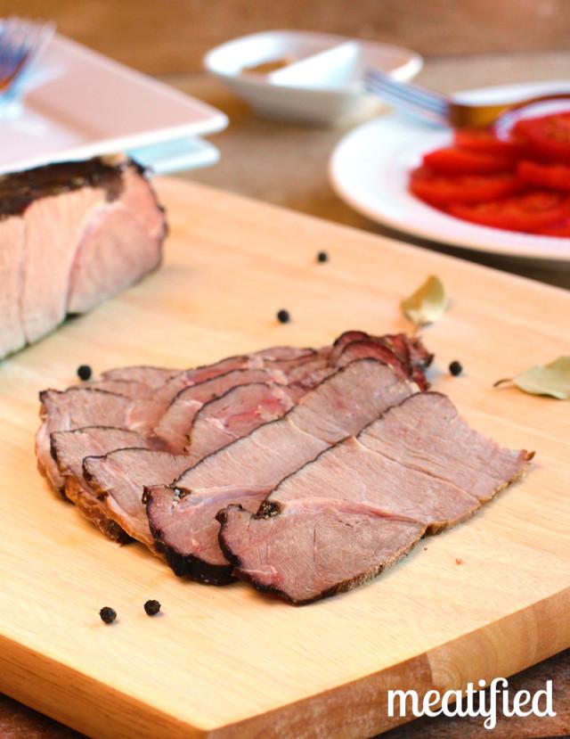 Paleo Standing Roast Beef (Brined)