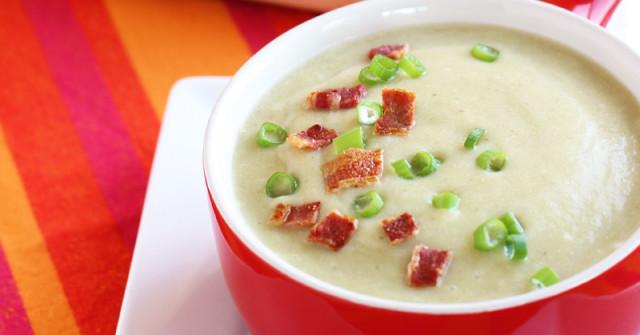 Paleo Kristen's Potato Leek Soup