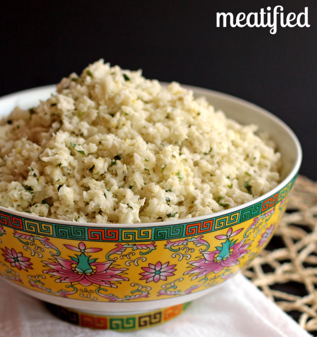 Paleo Coconut Lime Rice