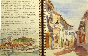 France Sketchbook 1 #4