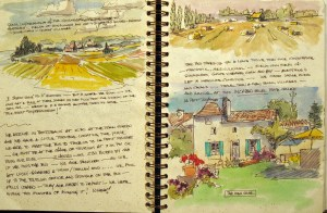 France Sketchbook 2 #4