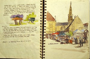 France Sketchbook 2 #5