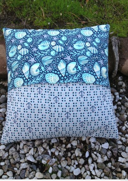 Coastal Cruiser pillow back