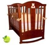 Детская кроватка-качалка Funny Bears