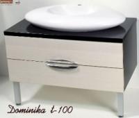 Тумба для ванной Dominika Т-100 с умывальником