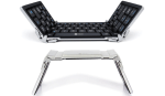iClever Foldable Bluetooth Ultra-thin Mini Wireless Keyboard.1