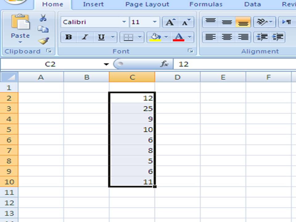 how to get the standard deviation in excel
