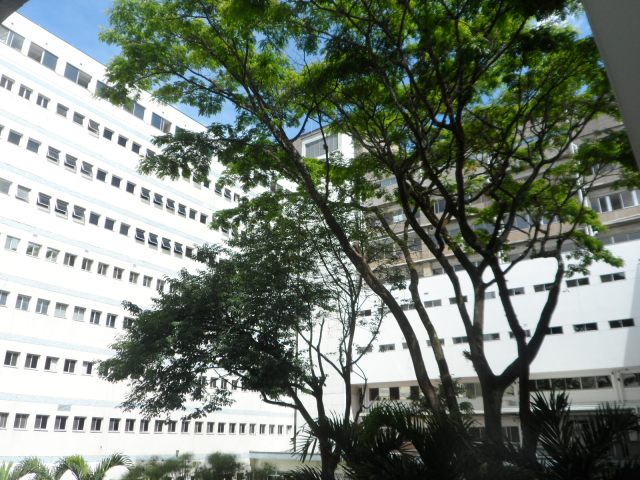 Atrium at the Pablo Tobon Uribe Hospital