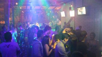 Dancing at Skybar