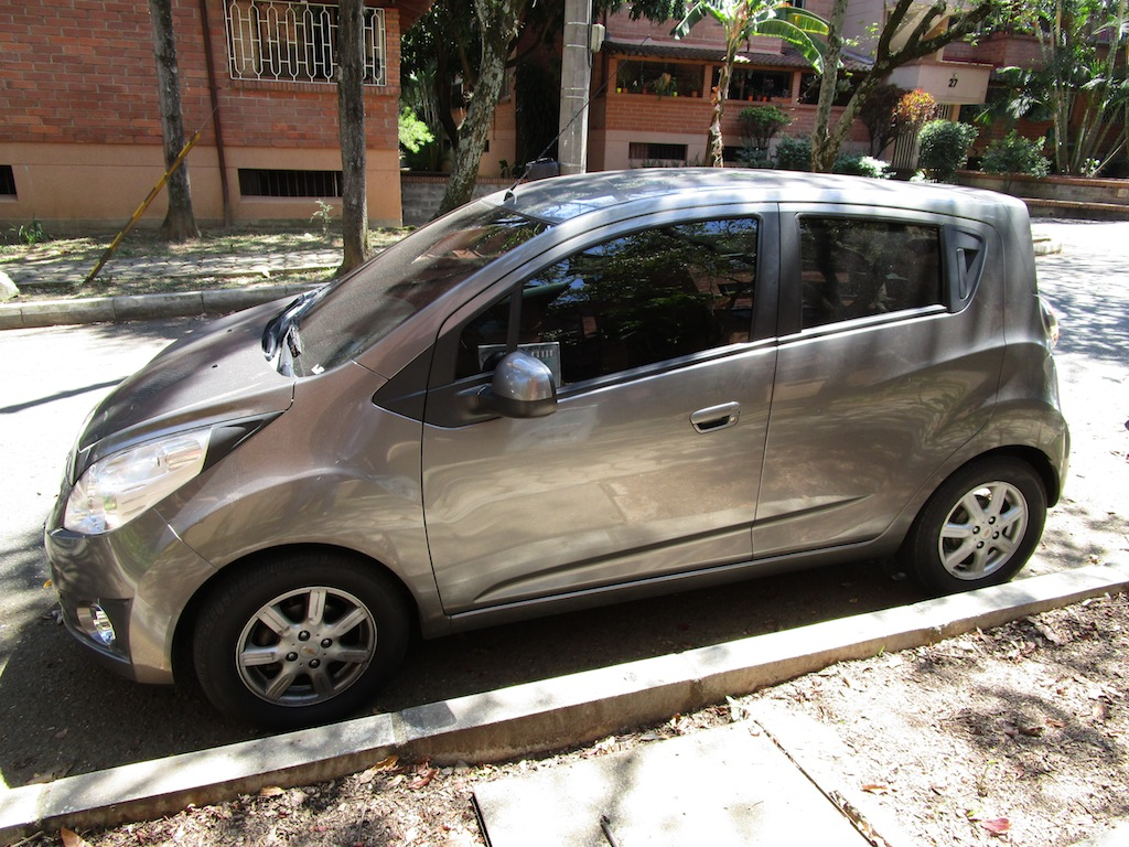 The Chevy Spark, one of the best selling cars in Colombia