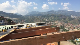 Donating a Roof in Comuna 13