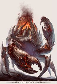 Volcano Crab by yuch