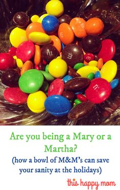 Are you being a mary