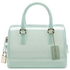 Furla Candy Mini Bauletto Bag ($124) ❤ liked on Polyvore