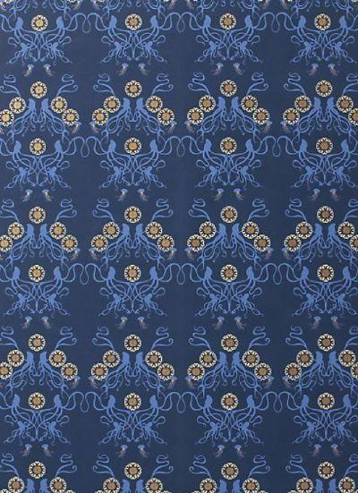 octopus wallpaper | anthropologie | For the Home | Pinterest